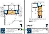 14.10 telaio alluminio filo muro monocolore - DI.BI. Porte Blindate