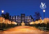 Festive Programme 2012 - Gleneagles