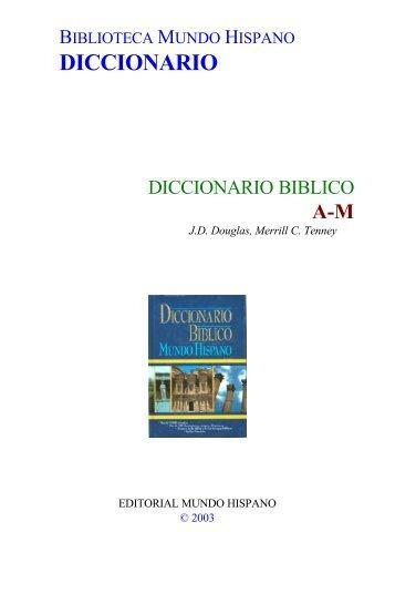 Diccionario Biblico - A-M
