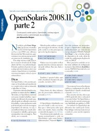 OpenSolaris 2008.11, parte 2 - Linux New Media