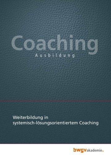 Coaching - BWGV-Akademie