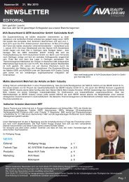 EDITORIAL - ava cooling systems