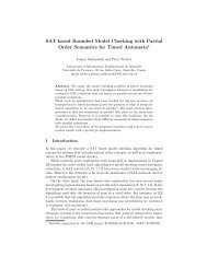SAT based Bounded Model Checking with Partial Order Semantics ...