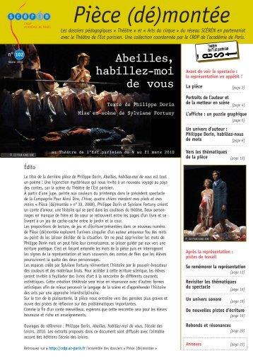 Dossier pédagogique Abeilles - Théâtre Massalia