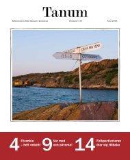 Nummer 36, juni 2013 - Tanums kommun