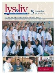 Lys & Liv 05-2006 web - Det teologiske Menighetsfakultetet