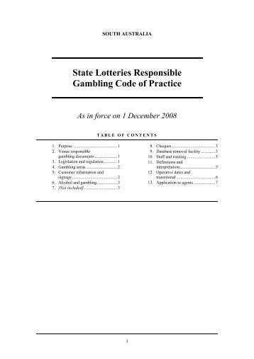 Responsible gambling code of conduct wildrose casino