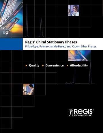 Regis' Chiral Stationary Phases - Hplc.eu