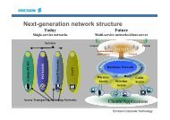 Next-generation network structure - Internetdagarna