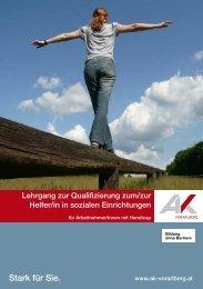 Stark für Sie. - Bildungscenter Vorarlberg