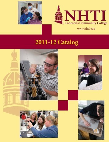 Curriculum for 11-12 - NHTI - Concord's Community College