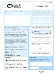 draft Census questionnaire