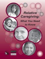 Relative Caregiving: What You Need To Know - State of Michigan