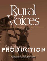 Rural Housing Production - Housing Assistance Council