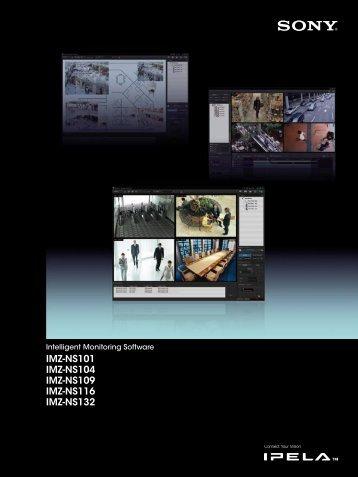 IMZ-NS101 IMZ-NS104 IMZ-NS109 IMZ-NS116 IMZ-NS132 - Sony ...