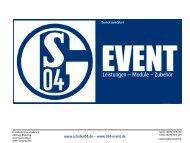 Das FC Schalke 04 - S04-Event
