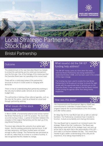 Bristol Partnership - South West Councils