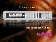 OPTICODEC 7600 - Orban