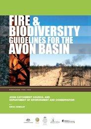 Fire & Biodiversity Guidelines for the Avon Basin - Wheatbelt NRM