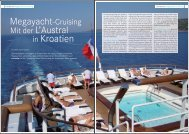 in Kroatien - Cruisetip