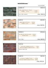 OBKLADY INCANA- katalog Ceny včetně DPH ALABAMA IN 1102kč ...