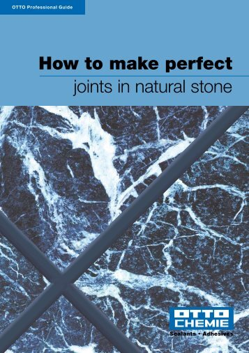 How to make perfect joints in natural stone - County Construction ...