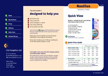 Nautilus Product Guide - CLS Graphics
