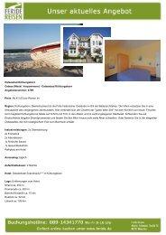 Aktuelles Angebot: Ostseebad Kühlungsborn - Event