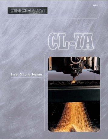 Laser Cutting System - Cincinnati Incorporated