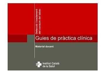 Guies de pràctica clínica