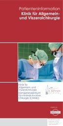 Klinik für Allgemein - Krankenhaus Brake