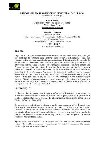 57 - Pluris2010 - Universidade do Minho