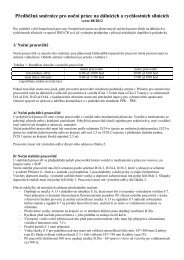Předběžná směrnice pro noční práce na dálnicích a rychlostních ...