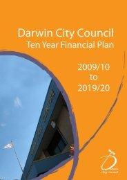 2009/2010 Ten Year Financial Plan - Darwin City Council