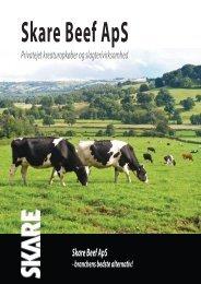 Privatejet kreaturopkøber og slagterivirksomhed Skare Beef ApS