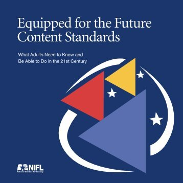 Equipped for the Future Content Standards: What Adults