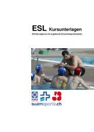 ESL Kursunterlagen - Schweizerischer Schwimmverband