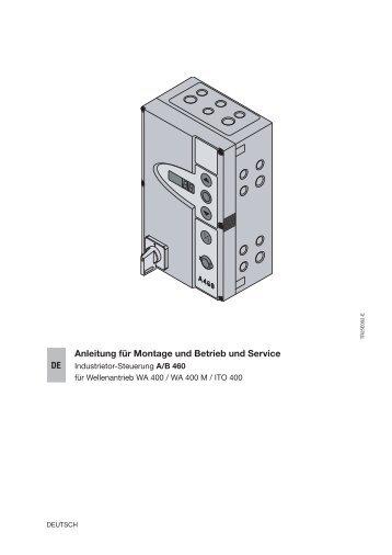 Steuerung Industrie-Sectionaltor A B460 - Hörmann KG