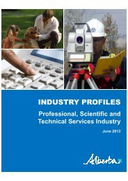 INDUSTRY PROFILES - Enterprise and Advanced Education
