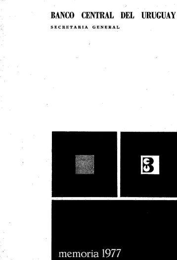 1977 - Biblioteca Virtual de Recursos para la Investigación Económica