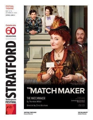the matchmaker - Stratford Festival