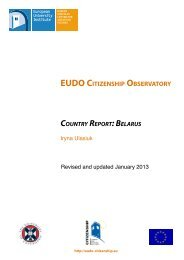 Belarus updated November 2012 - EUDO Citizenship