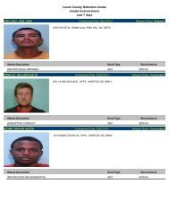 (Updated Sept. 6) Mugshots of people arrested in Lenoir County
