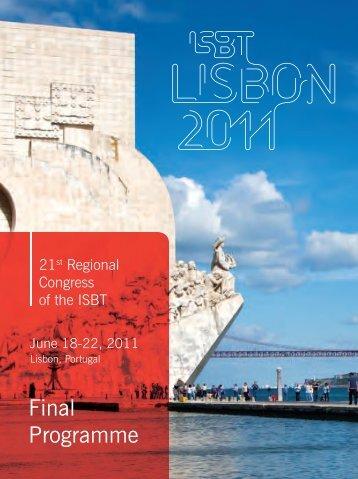 Satellite Symposium - International Society of Blood Transfusion
