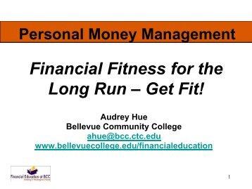 Personal Money Management - Bellevue College
