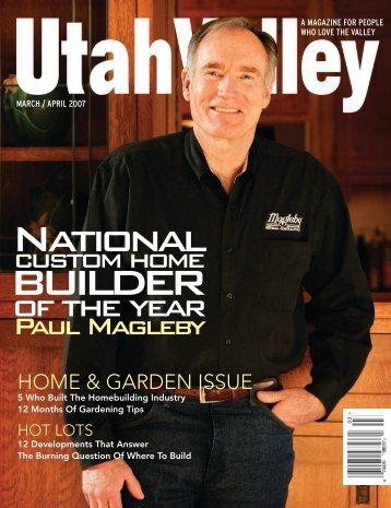 home & garden issue - Magleby Construction