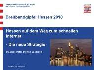Hessen auf dem Weg zum schnellen Internet – Die neue Strategie