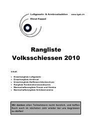 Komplette Rangliste - auf lgek.ch