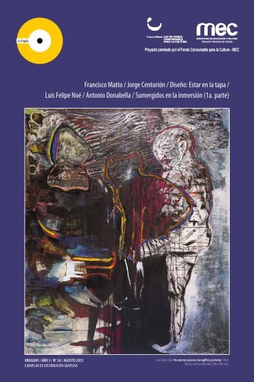 Francisco Matto / Jorge Centurión / Diseño: Estar ... - Revista La Pupila