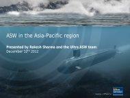 ASW in the Asia-Pacific Region - Hemscott IR